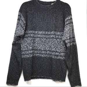 Vintage Charcoal Gray Sweater